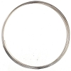 Beadalon Flat Memory Wire .35oz Large Bracelet Silver